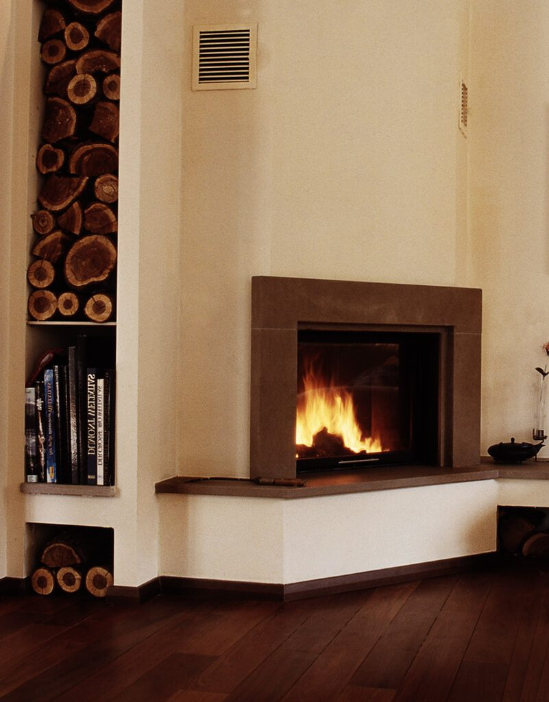 Caminetti inserti a legna e pellet gallery 5