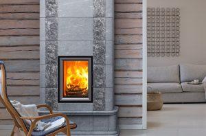 stufe ad accumulo di calore- stufa in pietra ollare